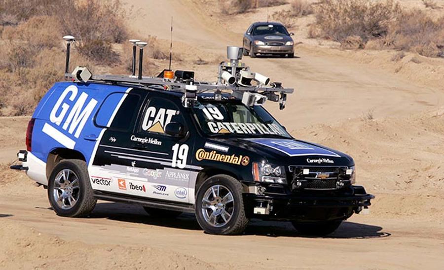 DARPA Urban Challenge 2007 winner