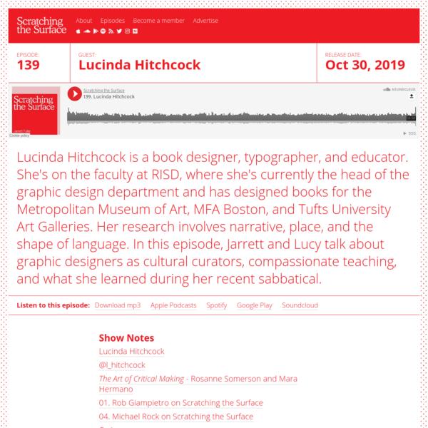 139. Lucinda Hitchcock