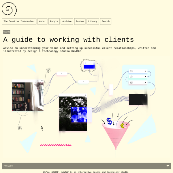 A guide to working with clients