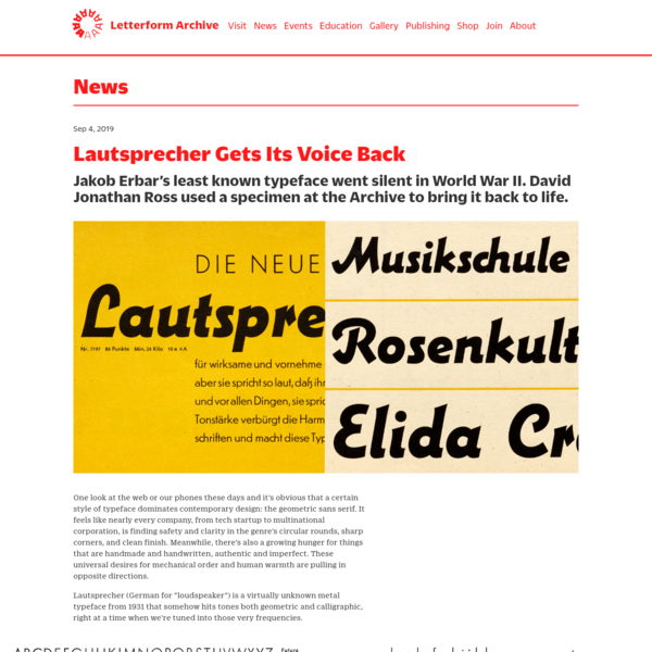 Lautsprecher Gets Its Voice Back