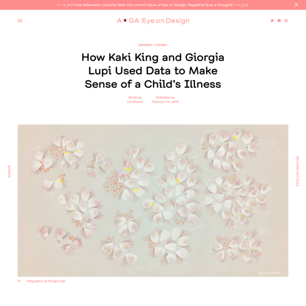 How Kaki King and Giorgia Lupi Used Data to Make Sense of a Child's Illness