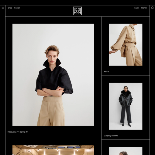 Totême online store - Shop the latest clothing, accessories and look