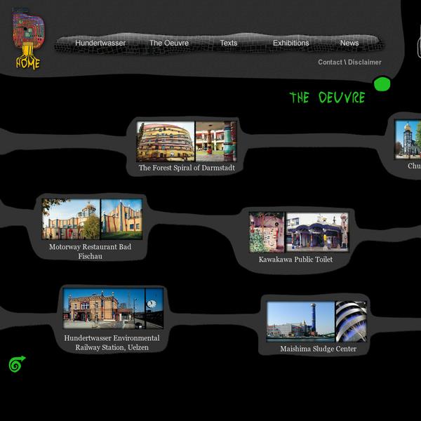 Hundertwasser Projects · Architecture · Hundertwasser