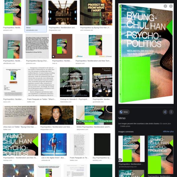 byung chul psychopolitics – RechercheGoogle