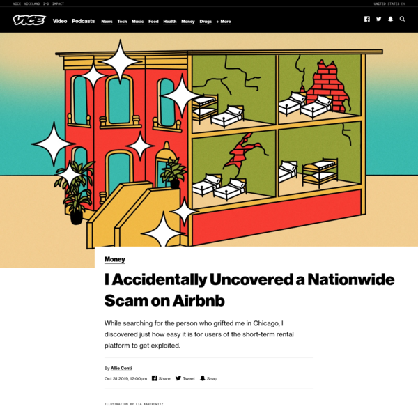 I Accidentally Uncovered a Nationwide Scam on Airbnb