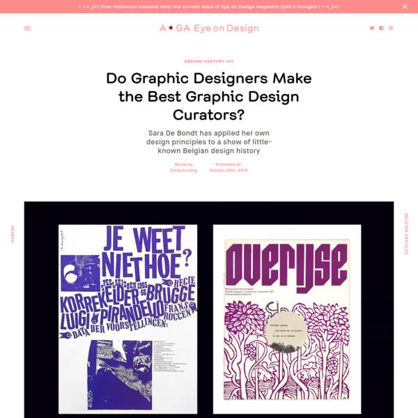 Do Graphic Designers Make the Best Graphic Design Curators? | | Eye on Design