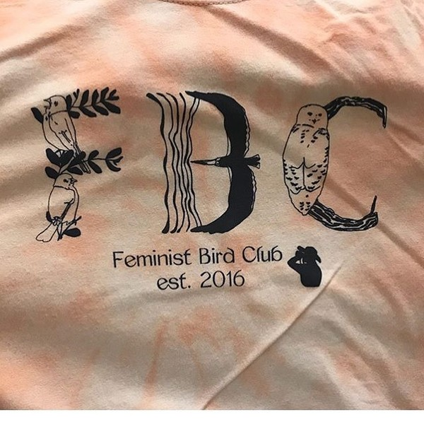 Worked w one of my favorite organizations @feministbirdclub on this tee design!! So happy to collaborate and promote such in...