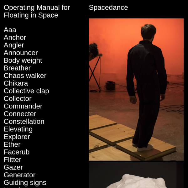Spacedance - Operating Manual for Floating in Space