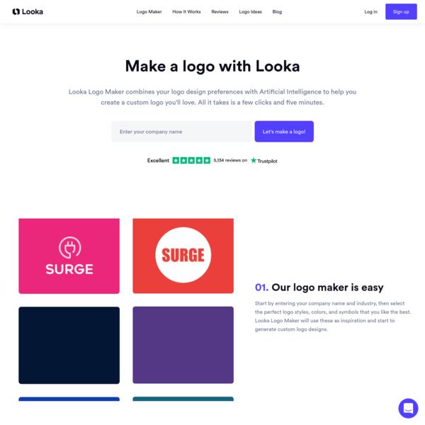 Looka Logo Maker | Create Custom Logos Instantly