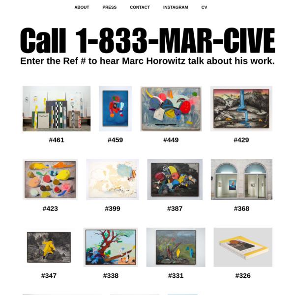1-833-MARCIVE | Marc Horowitz Archive