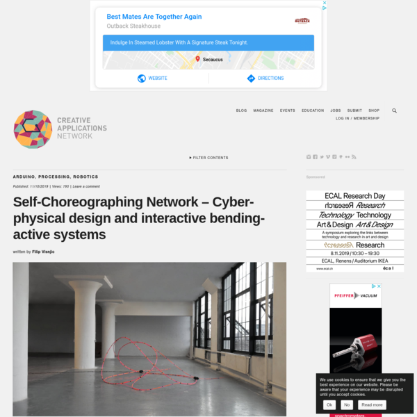 Self-Choreographing Network - Cyber-physical design and interactive bending-active systems