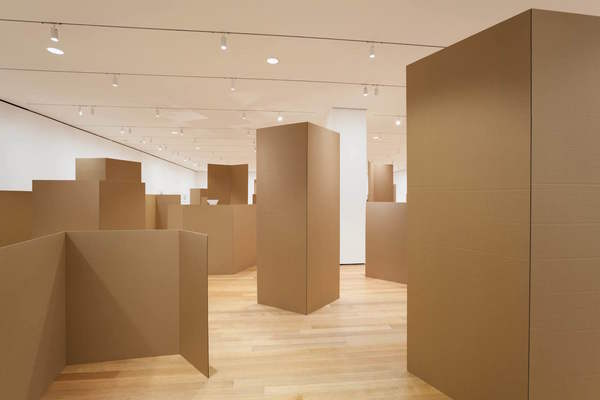 Installation view of 'Rachel Harrison: Perth Amboy,' Museum of Modern Art, New York