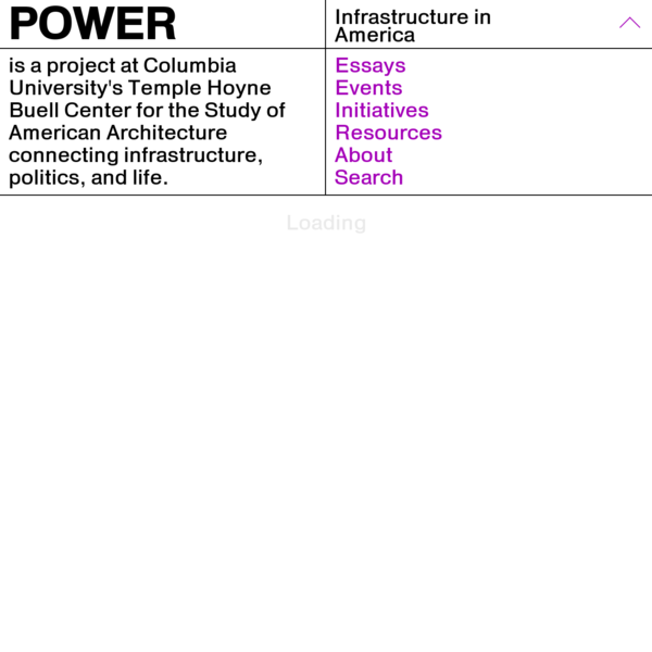 Power: Infrastructure in America