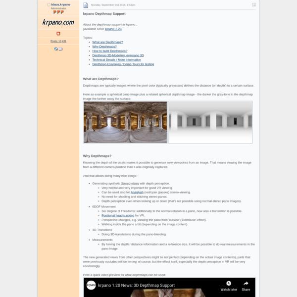 krpano Depthmap Support - News - krpano.com Forum
