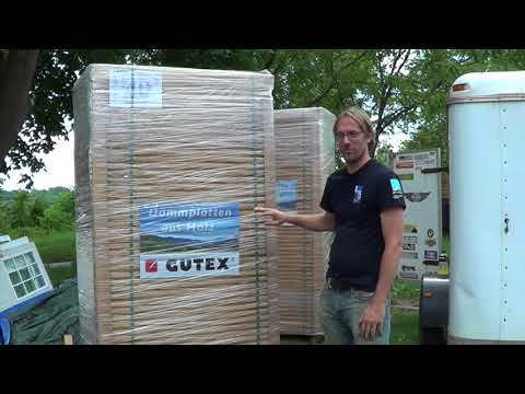 Introduction to Gutex wood fiberboard insulation