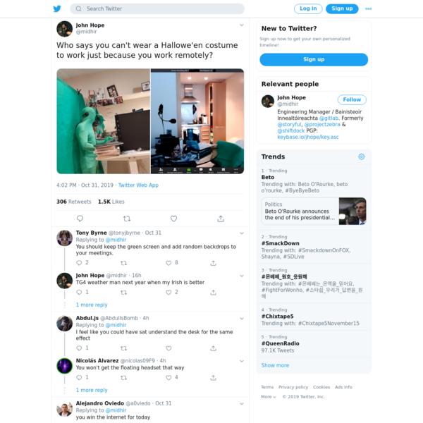 John Hope on Twitter