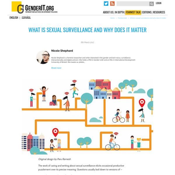What is sexual surveillance and why does it matter