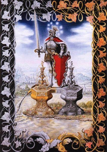 Laurie Lipton Splendor Solis: The Knight