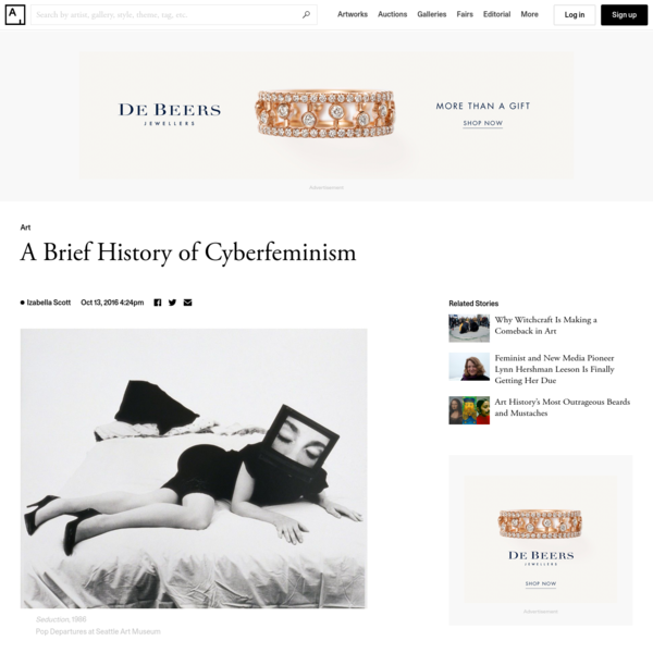 How the Cyberfeminists Worked to Liberate Women through the Internet