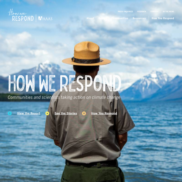 How We Respond: Stories of Community Response to Climate Change