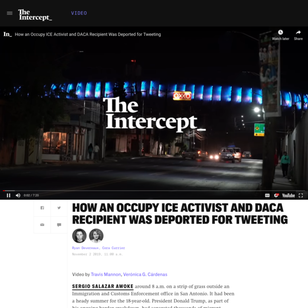 How an Occupy ICE Activist Was Deported for Tweeting