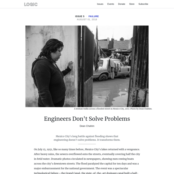 Engineers Don't Solve Problems