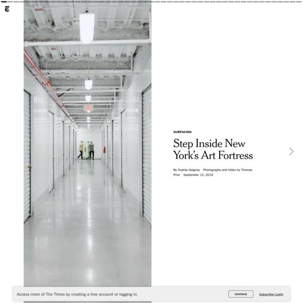 Step Inside New York's Art Fortress