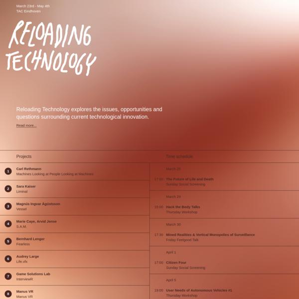 Reloading Technology - Reloading Technology