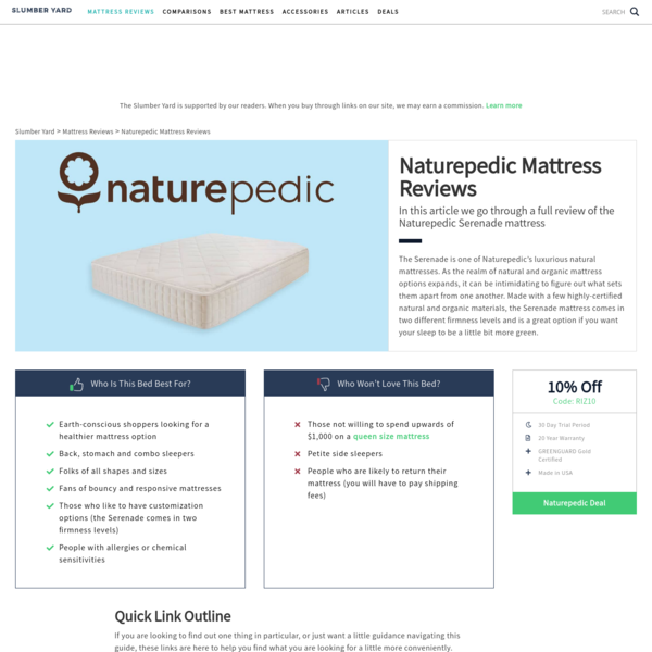 Naturepedic Mattress Reviews - #1 Consumer Guide (2019)