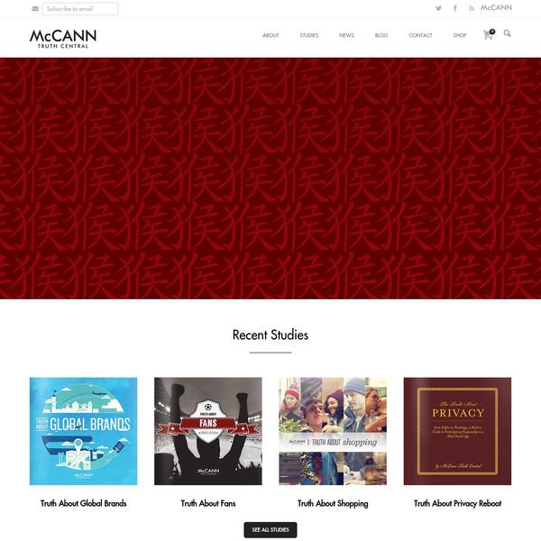 Home - McCANN Truth Central