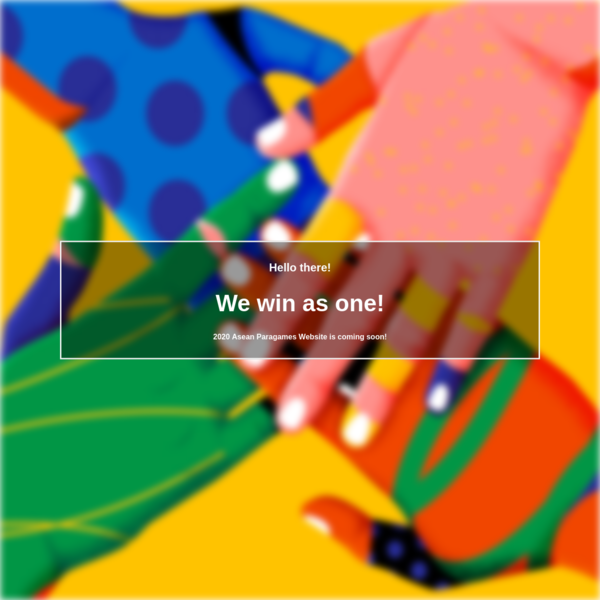 We win as one!