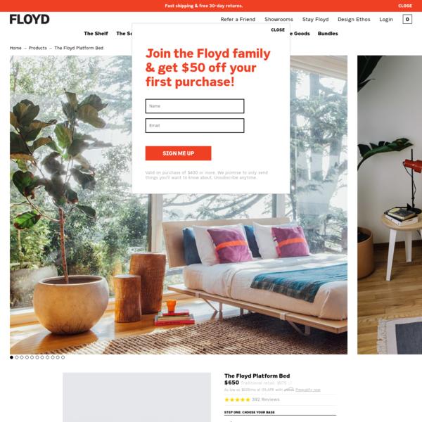 The Platform Bed | FLOYD - FLOYD