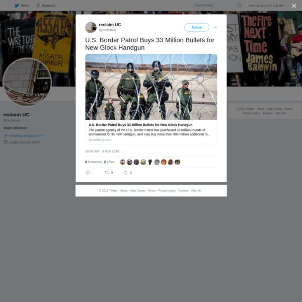 reclaim UC on Twitter