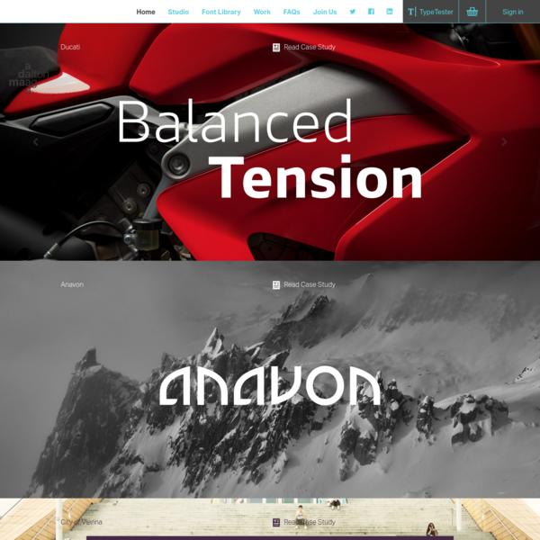 Dalton Maag | International typeface designers