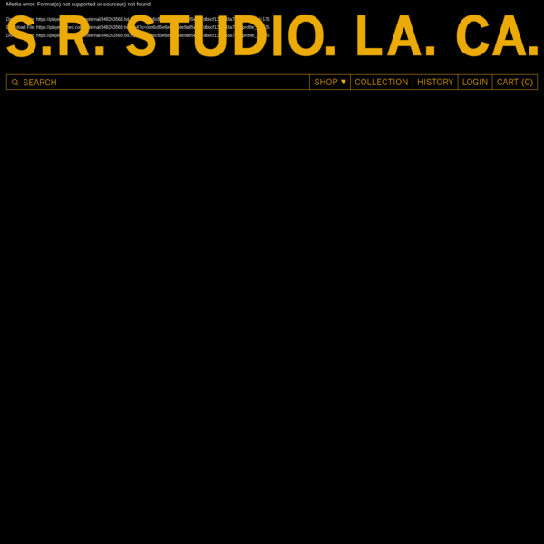 S.R. STUDIO. LA. CA. by Sterling Ruby