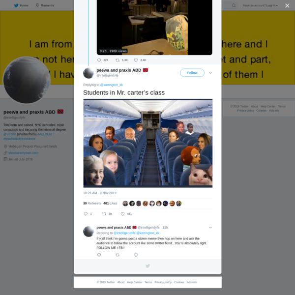 peewa and praxis ABD 🇹🇹 on Twitter