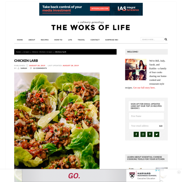 Chicken Larb: Easy 30 Minute Recipe! | The Woks of Life