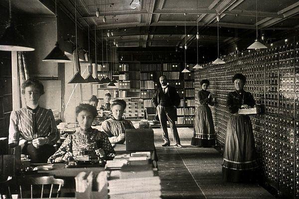 Employees of the Mundaneum