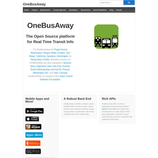 OneBusAway