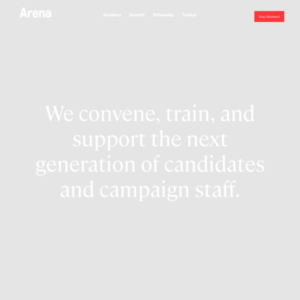Homepage - Arena