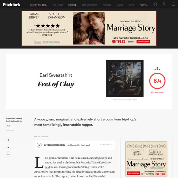 Earl Sweatshirt: Feet of Clay