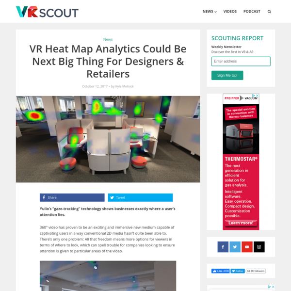 VR Heat Map Analytics Could Be Next Big Thing For Designers & Retailers - VRScout