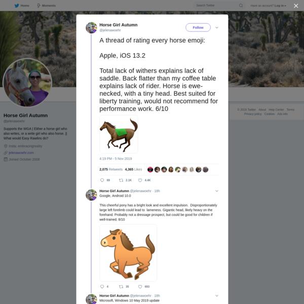 Horse Girl Autumn on Twitter