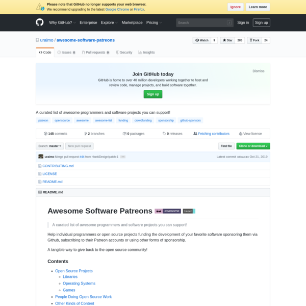 uraimo/awesome-software-patreons