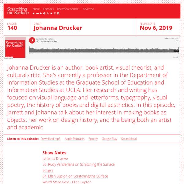 140. Johanna Drucker