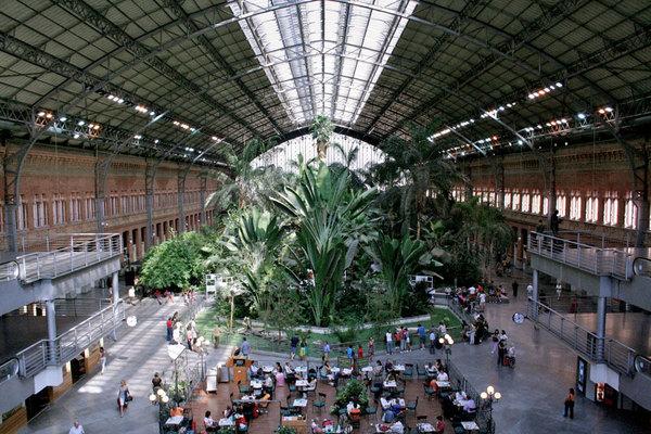 Rafael Moneo - Atocha Station, Madrid