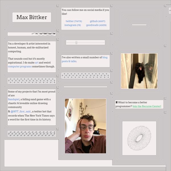 max-bittker
