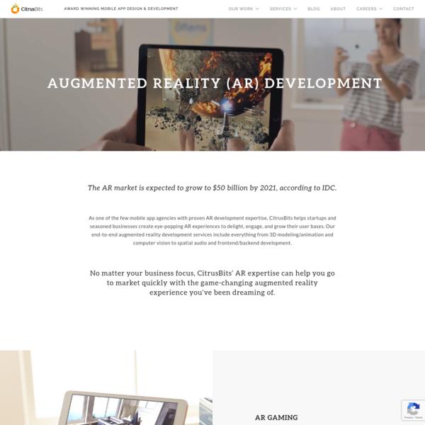 Augmented Reality (AR) App Development | CitrusBits