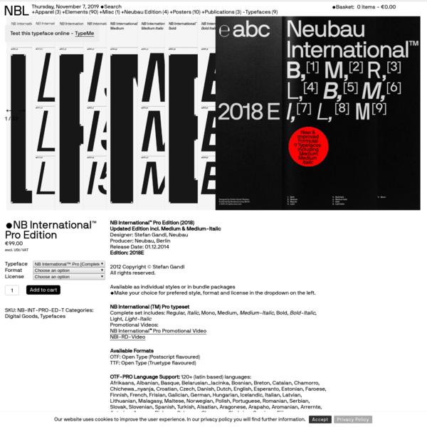 NB International™ Pro Edition