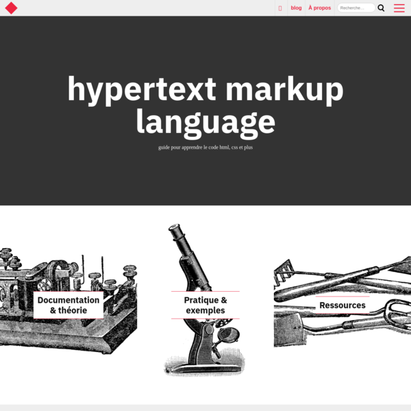 hypertextmarkuplanguage